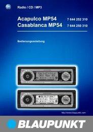 Acapulco MP54 - Blaupunkt