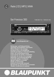 Radio CD MP3 WMA San Francisco 300 - 5 Star Car Alarms