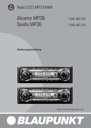 Alicante MP36 Sevilla MP36 - Blaupunkt