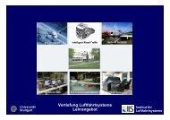 Universität Stuttgart Vertiefung Luftfahrtsysteme Lehrangebot SS12