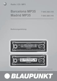 Madrid MP35 - Blaupunkt