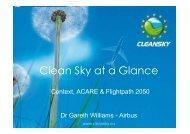 Technology Integration - Clean Sky