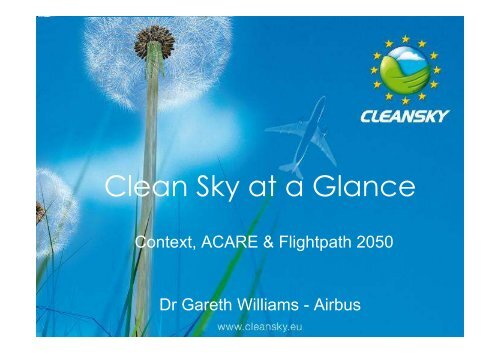 Technology Integration - Clean Sky