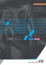 Flight Crew Training Manual : Normal, Abnormal & Emergency - ATR