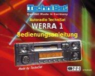 Qualität Made in Germany Autoradio TechniSat WERRA 1 ... - Thiecom