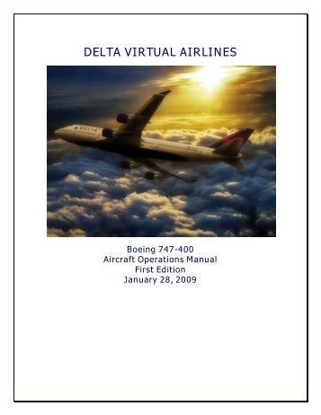 boeing 737 800 operating manual delta virtual airlines 747 altitude 747 and space shuttle