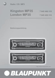 Kingston MP35 - Blaupunkt