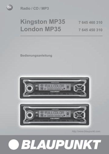 Kingston MP35 - Blaupunkt