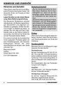 Kingston MP35 - Blaupunkt - Page 6