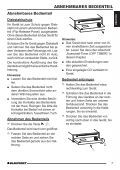 Kingston MP35 - Blaupunkt - Page 7