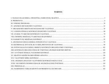 VRAAD 2009 metų veiklos ataskaita - Vilniaus regiono aplinkos ...