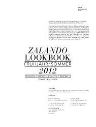 Zalando Lookbook Sommer 2012