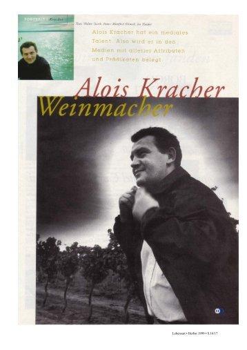 Alois Kracher - Weinmacher