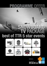 SNOWBOARD TV PACKAGE - quattro media