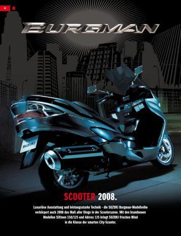 scooter 2008. - Suzuki