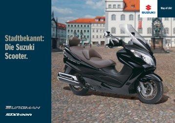 Scooter 2009 Download PDF - Suzuki