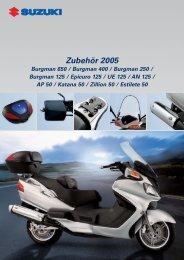 Zubehör 2005 - Suzuki