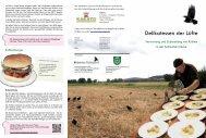 Delikatessen der Lüfte - Hubertus Fieldsports