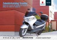 Zubehörkatalog Scooter - Suzuki
