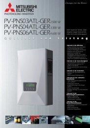 Datenblatt - Reisinger Solartechnik GmbH