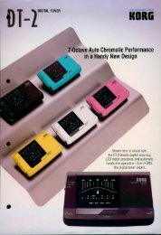 7-Octave Auto Chromatic Performance - Korg Forums