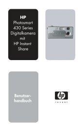 HP Photosmart 430 Series Digitalkamera mit HP Instant