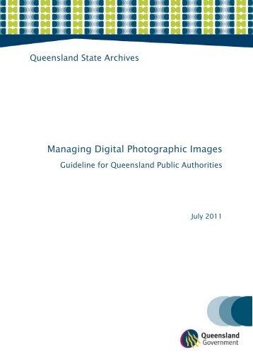 Managing Digital Photographic Images - Australasian Digital ...