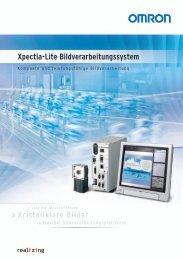 Xpectia-Lite Bildverarbeitungssystem - Omron Europe