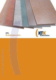 ktk_hpl-produktuebersicht - KTK Kunststoffe