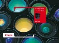 EF-Objektive und Zubehör - Canon Deutschland