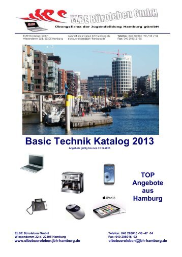 TOP Angebote aus Hamburg Basic Technik Katalog 2013