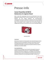 PowerShot A3100IS_PresseInfo - Canon