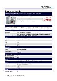 CANON Powershot A550 7,1MPix 4x optischer Zoom Digitalkamera ...