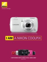 I AM A NIKON COOLPIX - Imaging Products - Nikon
