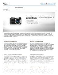 Welterste Digitalkamera mit 24 mm Weitwinkel und 15 ... - Onyougo.de