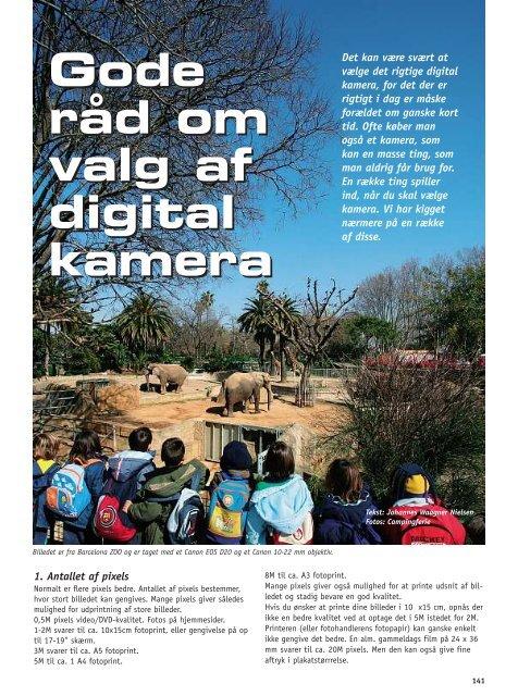 Gode råd om valg af digital kamera Gode råd om valg af digital kamera