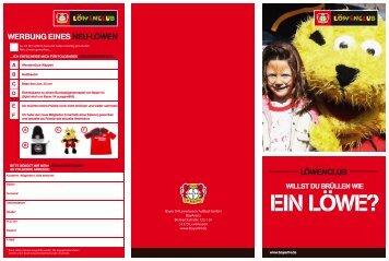 EIN LÖWE? - Bayer 04 Leverkusen