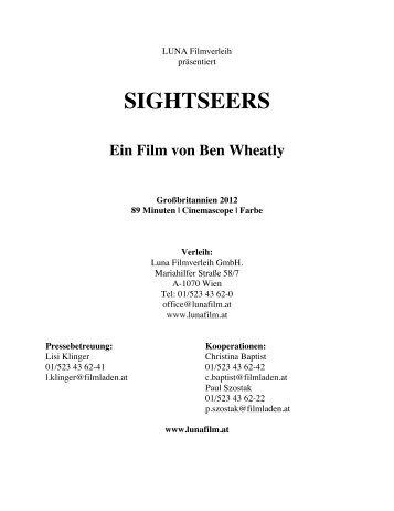 SIGHTSEERS Ein Film von Ben Wheatly - Luna Filmverleih