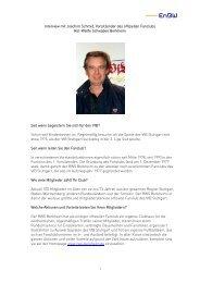 Interview mit Joachim Schmid, Vorsitzender des offiziellen ... - EnBW