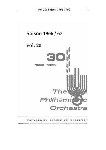 Vol. 20: Saison 1966-1967 -1-