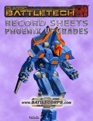 BattleTech 35006 - Technical Readout 3055 Upgrade pdf - Lski org