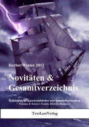 Katalog Winter 2012 Gesamtprogramm - TextLustVerlag