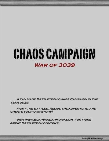 Chaos Campaign – War of 3039 - ScrapYard Armory