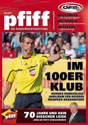 PFIFF Ausgabe Nr. 2 - 2011 - Schiri.at
