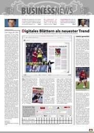 Digitales Blättern als neuester Trend - Bayer 04 Leverkusen
