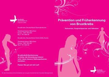 Prävention und Früherkennung von Brustkrebs g