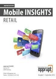 Mobile Insights Retail - apprupt