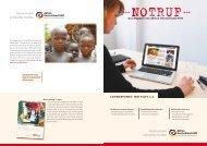 NOTHILFE 2.0 – das bündnis im internet - Aktion Deutschland Hilft