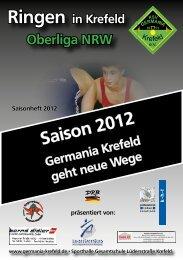 Saison 2012 - KSV Germania