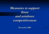 Measures - Invest in Tunisia, The Foreign Investment Promotion ...